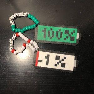 Battery Perler Kandi bracelet pack